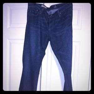 AG blue bootcut jeans